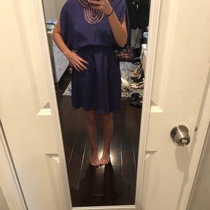 Silk Bebe dress with pockets